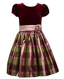 Little Girls Dirndl Plaid Dress