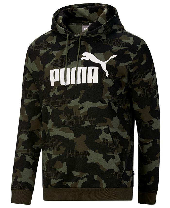 Puma Men's Essential Logo Camo Hoodie & Reviews - Activewear - Men ...
