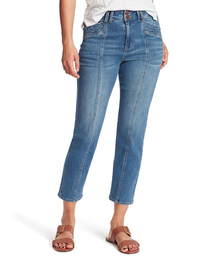 Sanctuary - Seamed Cropped Jeans