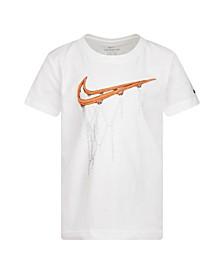 Toddler Boys Basketball Logo T-Shirt
