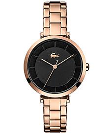 Lacoste Women's Geneva Carnation Gold Steel Bracelet Watch 32mm