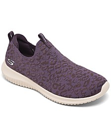Women's Ultra Flex - Wild Journey Slip-On Walking Sneakers from Finish Line