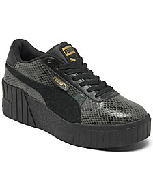 Puma Women's Cali Wedge Casual Sneakers from Finish Line