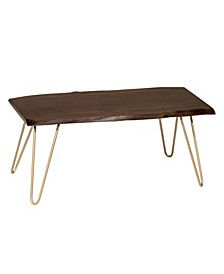 Stevi Live Edge Coffee Table or Bench