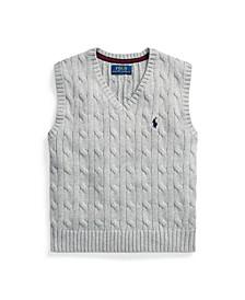 Little Boys Cable-Knit Sweater Vest