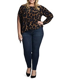 Women's Plus Jenny Sleeve Top