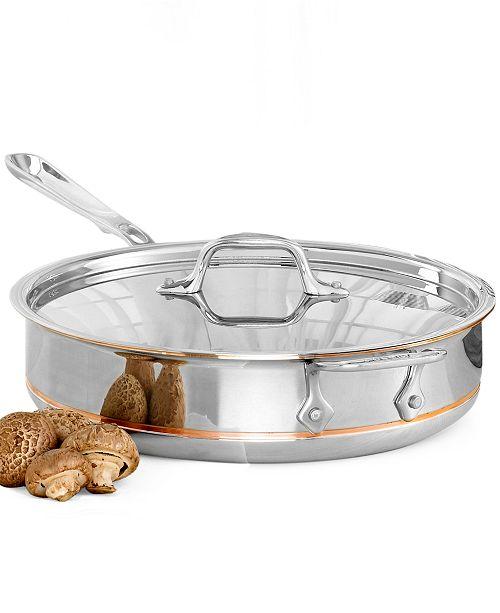 All-Clad Copper-Core 3 Qt. Covered Saute Pan