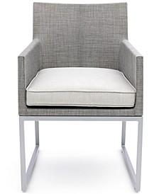 Taft Outdoor Dining Chair with Sunbrella® Cushion, Created for Macy's