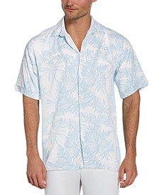 Men's Leaf-Print Shirt