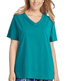 Plus Size Cotton Loungewear T-Shirt