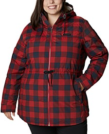Plus Size Chatfield Hill Printed Jacket