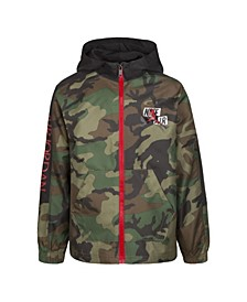 Toddler Boys Jumpman Classics Camo Print Full-Zip Jacket