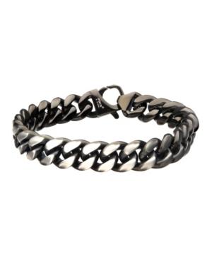 Men's Steel Matte Curb Chain Bracelet