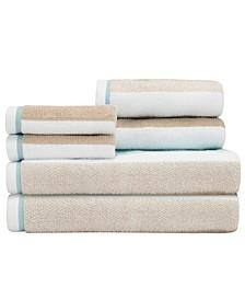 Dana 6 Piece Towel Set
