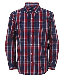 Little Boys Dean Y/D Plaid Shirt