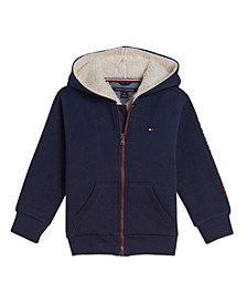 Little Boys Ivan Full Zip Hoodie