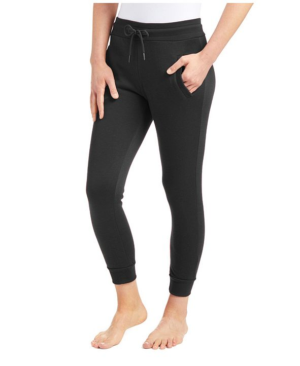 Galaxy By Harvic Women's Slim Fit Heavy Weight Fleece Lined Joggers