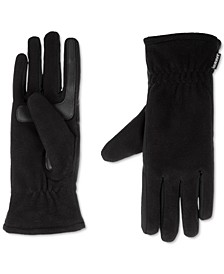 Women's Lined Recycled Stretch Fleece Water Repellent Gloves