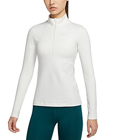 Pro Women's Therma Dri-FIT Half-Zip Top