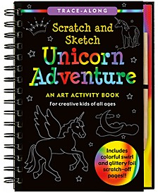 Scratch and Sketch Unicorn Adventure: An Art Activity Book