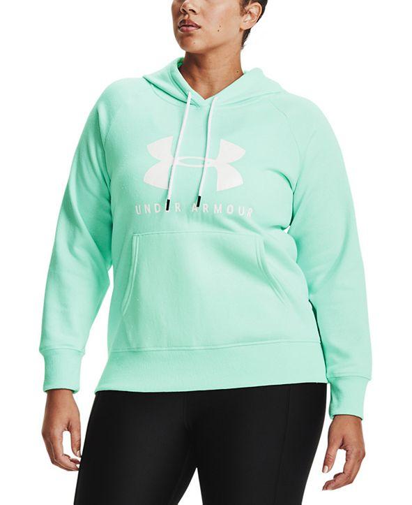 Under Armour Rival Logo Fleece Hooded Sweatshirt