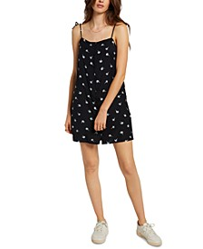 Juniors' Coco Tie-Strap Dress