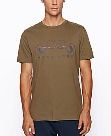 BOSS Men's Tee 1 Regular-Fit Cotton T-Shirt