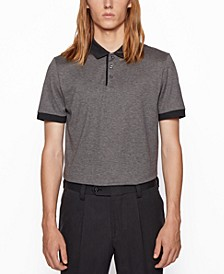 BOSS Men's Piket 32 Regular-Fit Polo Shirt