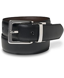 Lauren by Ralph Lauren Leather Reversible Dress Belt
