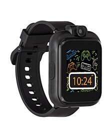 Kid's Playzoom 2 Solid Black Tpu Strap Smart Watch 41mm