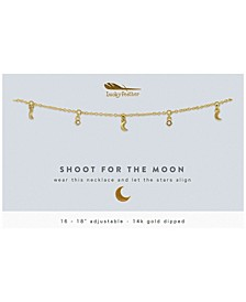 Shoot for The Moon Dangle Necklace