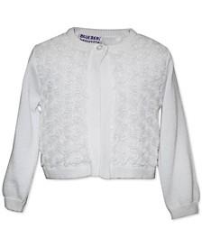 Baby Girls Rosette Cardigan Sweater