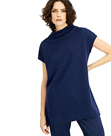 Ribbed Cap-Sleeve Top, Created for Macy's