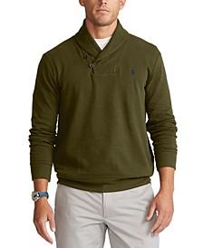 Men's Double-Knit Jersey Sweater