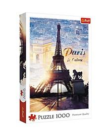 Jigsaw Puzzle Paris at Dawn, 1000 Piece