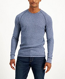 Men's Raglan Thermal Long-Sleeve T-Shirt, Created for Macy's