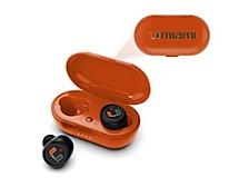 Prime Brands Miami Hurricanes True Wireless Earbuds