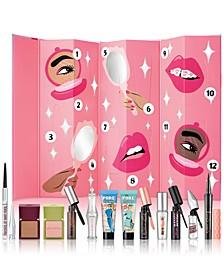 12-Pc. Shake Your Beauty Advent Calendar Gift Set