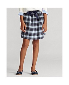 Big Girls Tartan Plaid Oxford Skirt