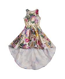Big Girl Burnout Organza Dress