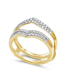 Diamond Enhancer Ring Guard (1/3 ct. t.w.) in 14K Yellow Gold