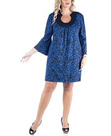 Women's Plus Size Paisley Print Dress
