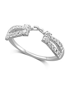 Diamond Enhancer Ring Guard (1/3 ct. t.w.) in 14K White or Yellow Gold
