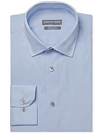 Men's Classic/Regular-Fit Non-Iron Performance Stretch Dress Shirt