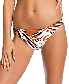 Juniors' Reversible Honey Mod Bikini Bottoms
