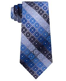 Men's Ramos Slim Geo Stripe Tie