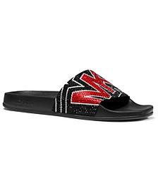 Gilmore Signature Logo Slide Sandals