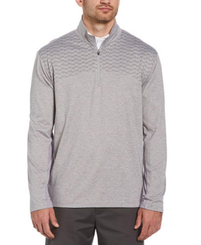 PGA TOUR - Men's Wrinkle-Resistant Quarter-Zip Jacket