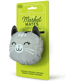 Market Mates Cat Tote Bag