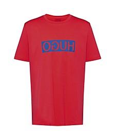 Men's Dicagolino T-Shirt with HUGO Logo